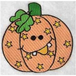 Funky Pumpkin embroidery design