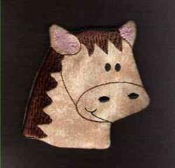 FSL Horse Head embroidery design
