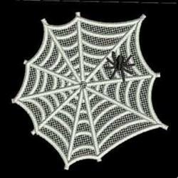 FSL Spider Web embroidery design