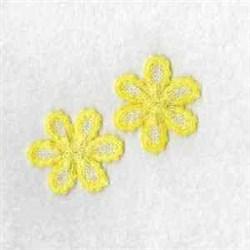 FSL Yellow Daisy embroidery design