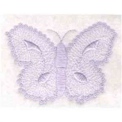 Candlewicking Butterfly embroidery design