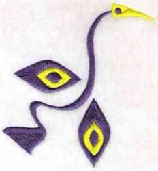 Fun Shape Bird embroidery design