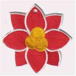 FSL Flower Ornament embroidery design