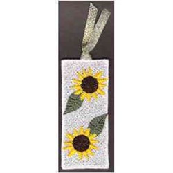 FSL Sunflower Bookmark embroidery design