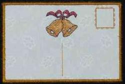 Bells Postcard embroidery design
