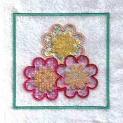 Floral Windsock embroidery design
