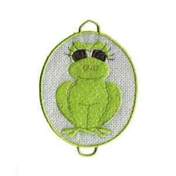 Frog Project embroidery design