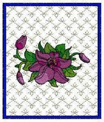 Spring Flower Project embroidery design