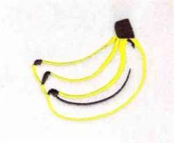 Banana Outline embroidery design