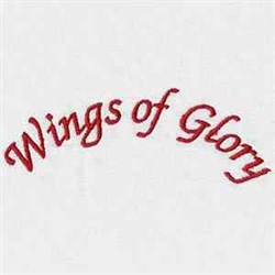 Wings Of Glory embroidery design