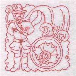 Canada Mount Block embroidery design