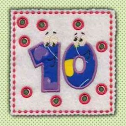 Lace Up Page 10 embroidery design