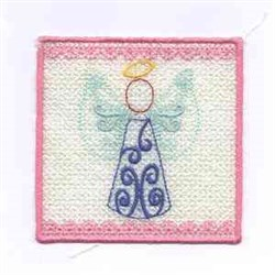 Angel Candlewrap embroidery design