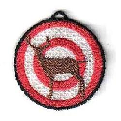 FSL Hunting Ornament embroidery design