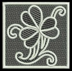 FSL Lace Square embroidery design