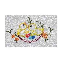 Spring Chickens embroidery design