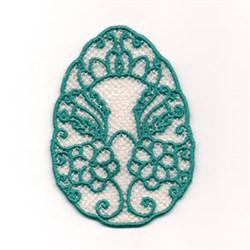FSL Decorative Easter Egg embroidery design