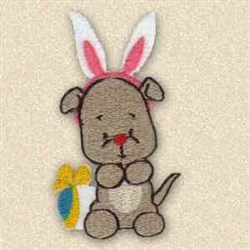 Wanna Be Easter Bunny embroidery design