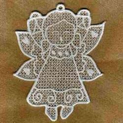 FSL Fairy Ornament embroidery design