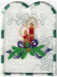 Candle Project embroidery design