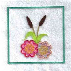 Frog Wind Sock embroidery design