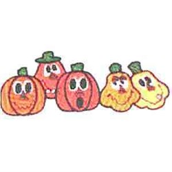 Halloween Border embroidery design