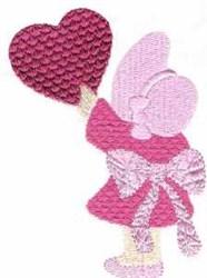 Sunbonnet Girl embroidery design