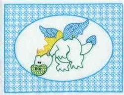 Lace Dragon Frame embroidery design