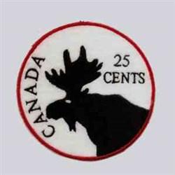Canada Coaster embroidery design