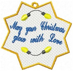 FSL Christmas Glow embroidery design