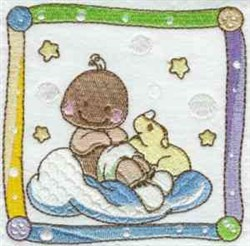 Quilt Block Baby embroidery design