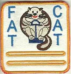 Fat Cat Patch embroidery design