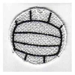 FSL Volleyball Ornament embroidery design
