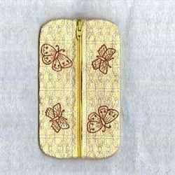 Zip Tissue Case embroidery design
