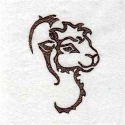 Wild Thing Camel embroidery design