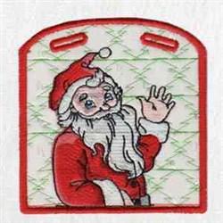 Xmas Santa Box embroidery design