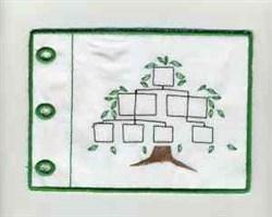 Family Album embroidery design