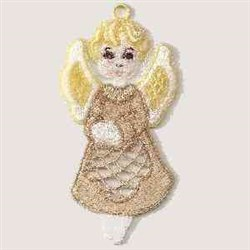 FSL Christmas Angel embroidery design