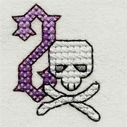 Heavy Meal Letter Z embroidery design