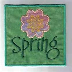 Frog Windsock embroidery design