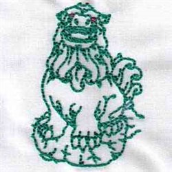 Loyal Protector embroidery design