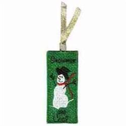 FSL Winter Bookmark embroidery design