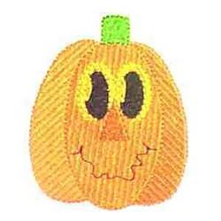 Jack O Lantern embroidery design