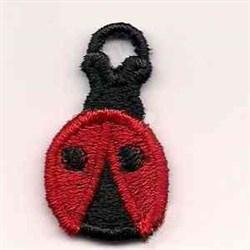 Ladybug Charm embroidery design