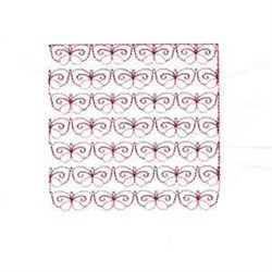 Buterfly Lace Quilt Block embroidery design