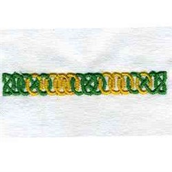 Celtic Border embroidery design
