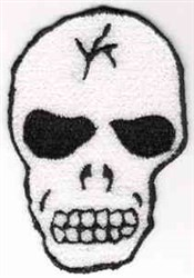 FSL Skeleton Head embroidery design