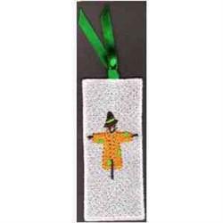 FSL Scarecrow Bookmark embroidery design