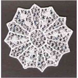 FSL Snowflake embroidery design