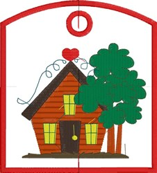 Cozy Home embroidery design